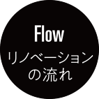 Flow リノベーションの流れ